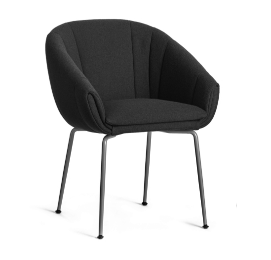 Luna Chair with Metal Legs
