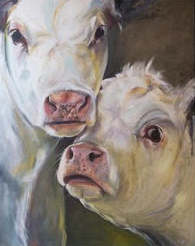 Two Cows Artwork