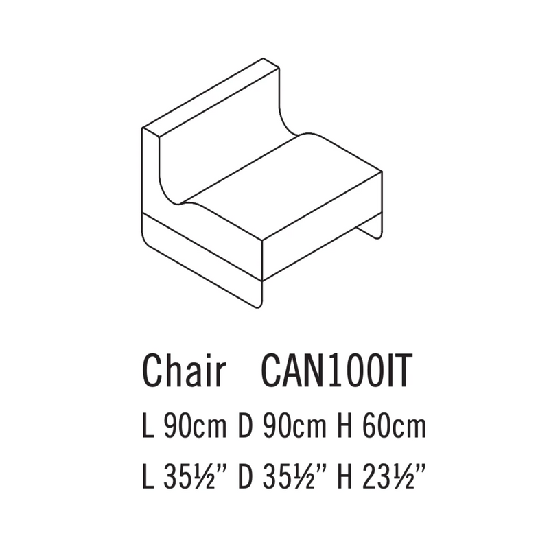 Canyon Lounge Chair TR