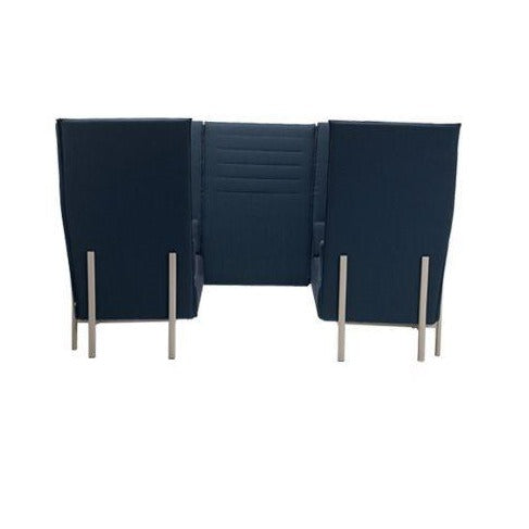 Eleven High Back Privacy - 2 Armchairs