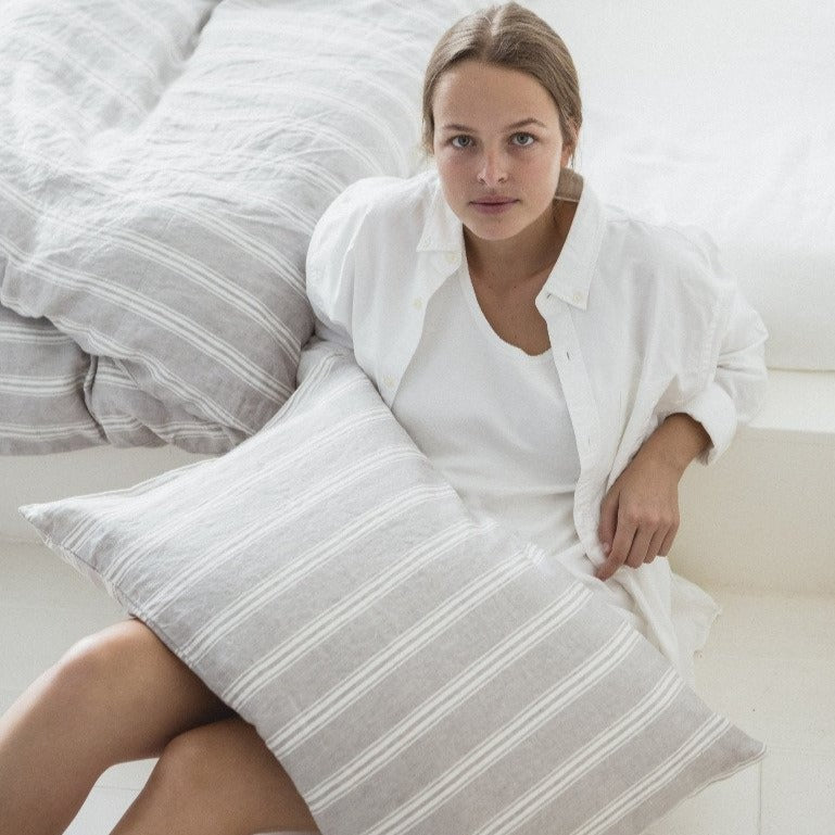 Guest House Stripe Bed Pillow