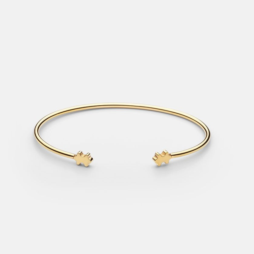 PPG Cuff, Gold Plated