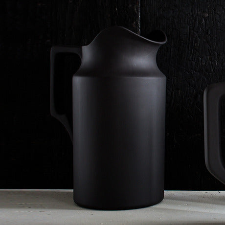 Still Life Pitcher, Black