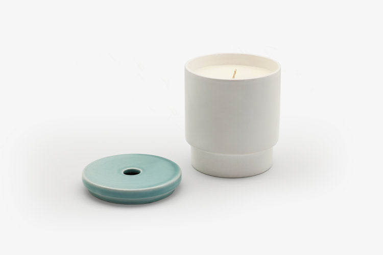 Night Space Candle, Pale Blue