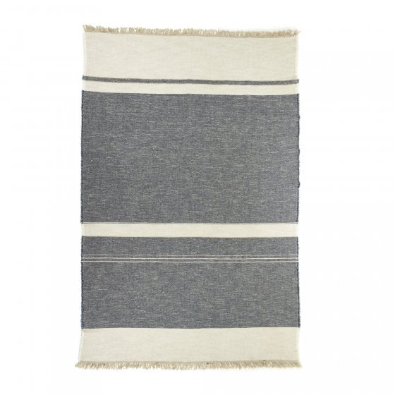 North Sea Stripe Throw