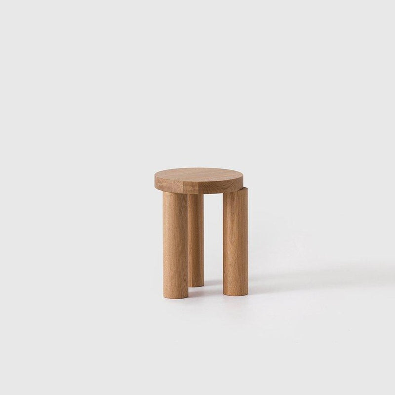 Offset Side Table