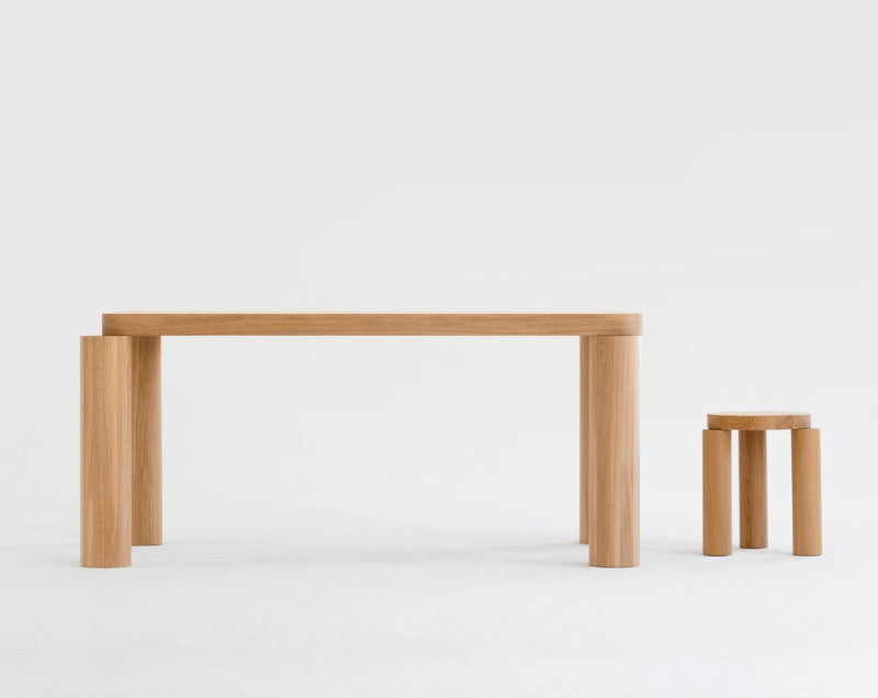 Offset Dining Table