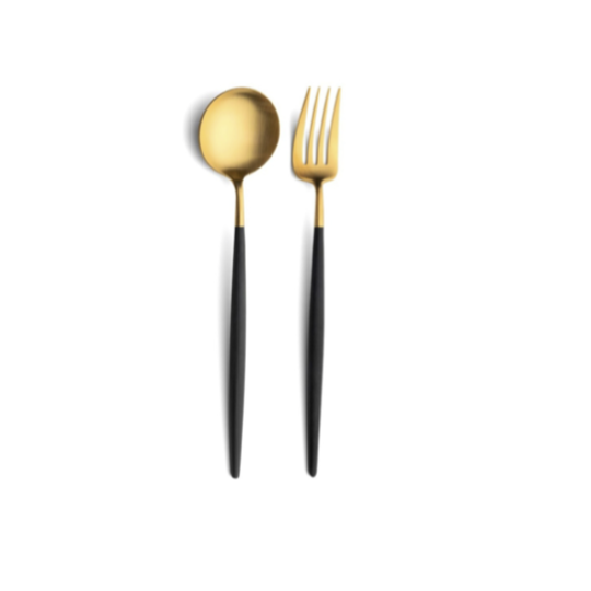 Black & Gold Serving Set