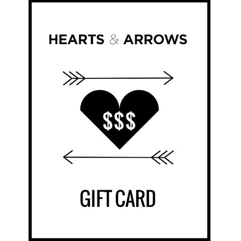 Hearts & Arrows Gift Card