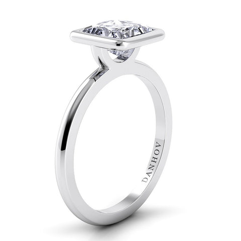 Per Lei Engagement Ring Setting LE100-PR, Classic Engagement Ring, Danhov's Ring