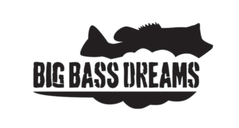 "Big Bass Dreams 5"" Decal"