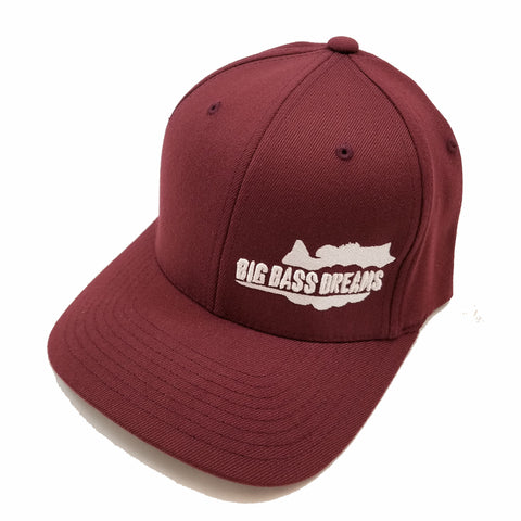 BBD Logo Fitted Flexfit Curved Bill Cap