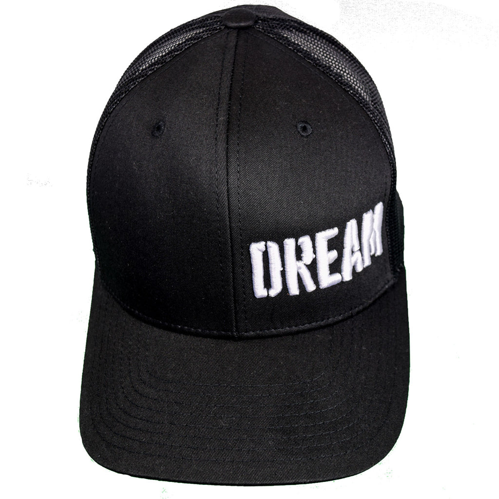 DREAM Curved Trucker Snapback Hat