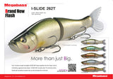 Big Bass Dreams Limited Edition Megabass I-Slide 262T