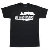 Big Bass Dreams Logo Graphic Tee
