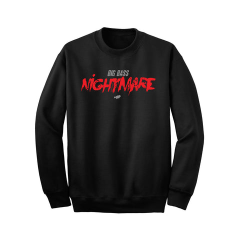 Big Bass Nightmare Crew Neck Sweater
