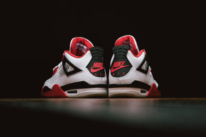 Jordan 4 Retro 'Fire Red'