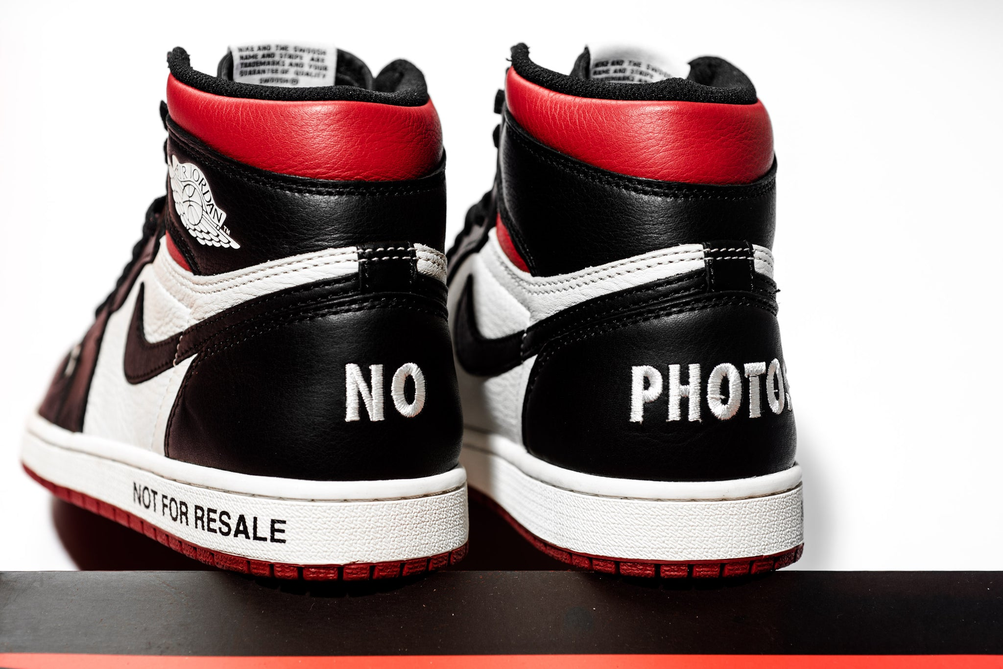 timeless design d9ad2 e9905 Air Jordan 1 Retro High OG NRG - Not For Resale - Sneaker ...