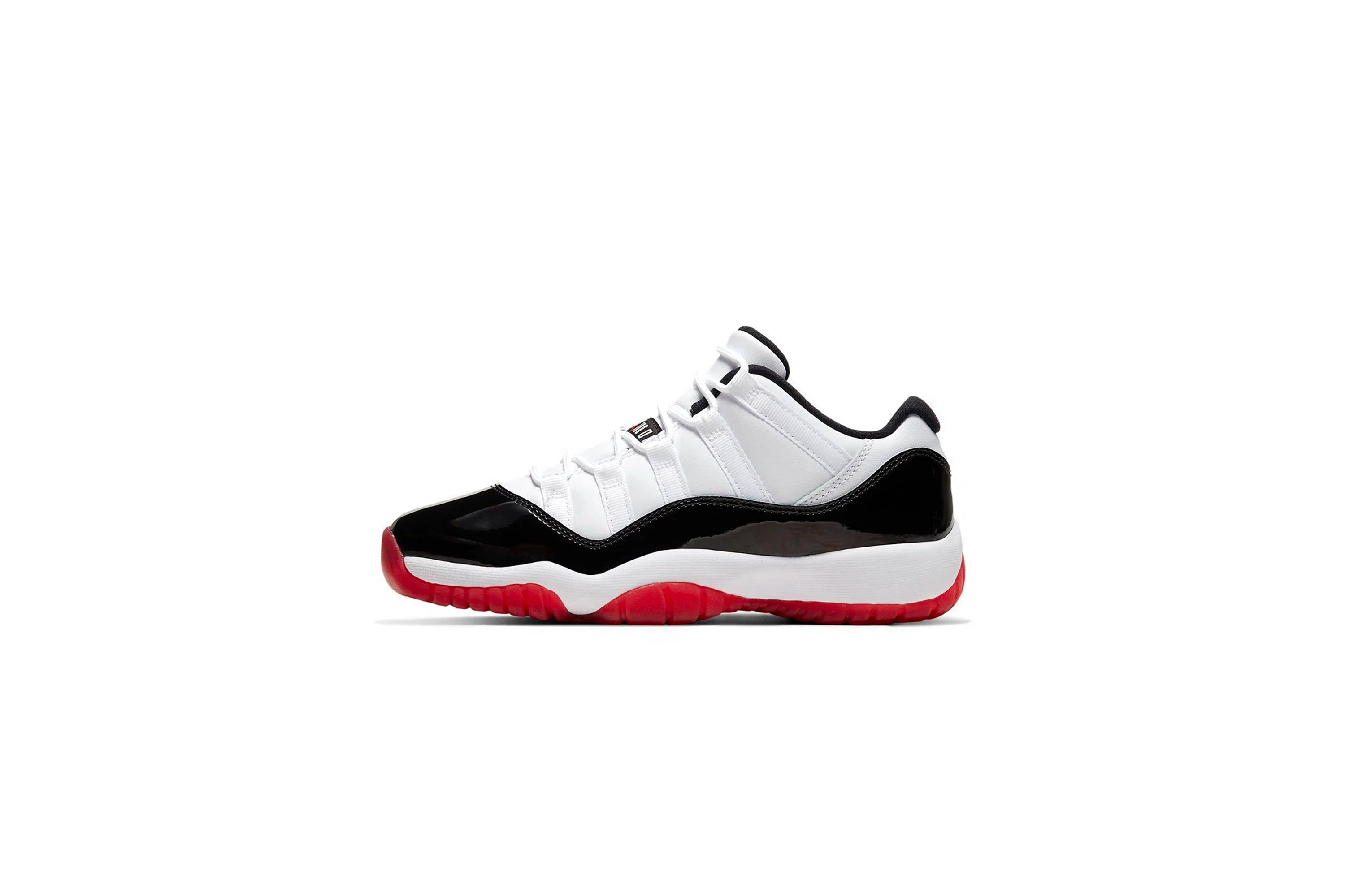 Air Jordan 11 Retro Low Gym Red Sneaker Politics