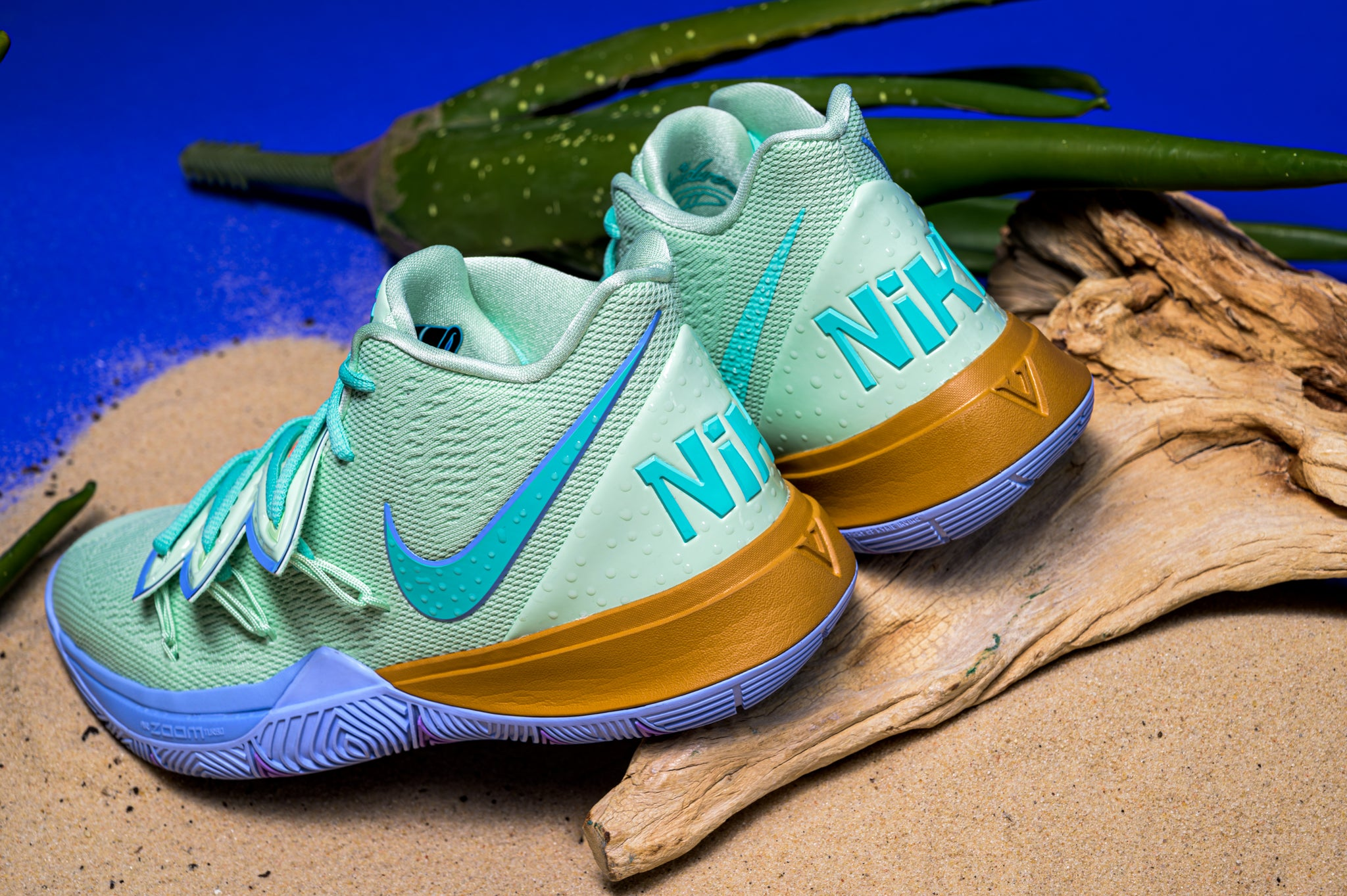 Nike Kyrie 5 x Spongebob Collection , Sneaker Politics