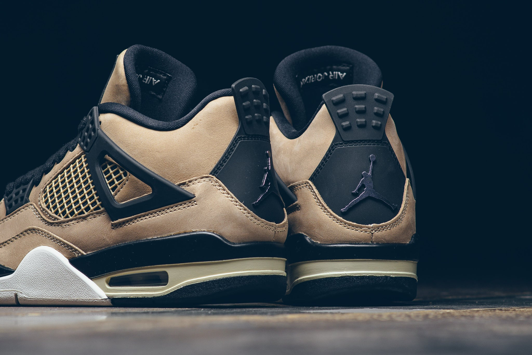 competitive price 423be cf126 Women's Air Jordan 4 Retro 'Fossil' - Sneaker Politics