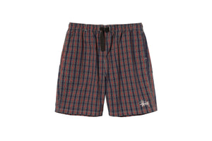 Stussy Brushed Cotton Mountain Short - Plaid