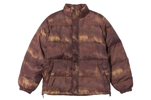 Stussy Aurora Puffer Jacket - Brown