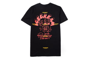 Ice Cream Man SS Tee - Black