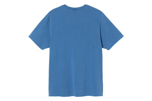 Stussy Surfman Pigment Dyed Tee - Blue