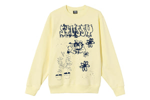 Stussy Bad Dream Crew - Pale Yellow