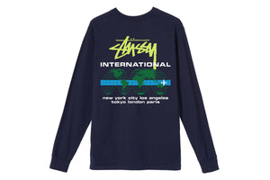Stussy International LS Tee - Navy
