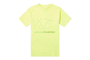 Pleasures Psilocybin Tee - Safety Green
