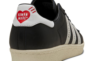 Adidas x Human Made Superstar80s - Core Black/Cloud White