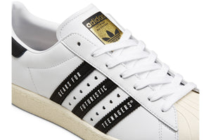 Adidas x Human Made Superstar80s - Cloud White/Core Black
