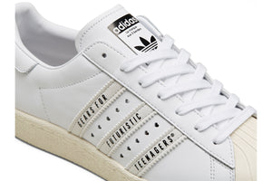 Adidas x Human Made Superstar80s - Cloud White