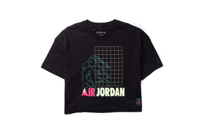 WMNS Jordan Winter Utility Women's Short Sleeve Boxy Tee - Black