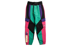 WMNS Jordan Winter Utility Fleece Pants - Neptune Green/Black/Watermelon/Court Purple