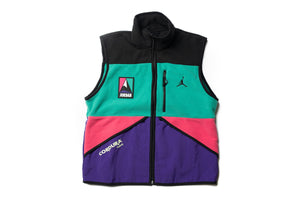 Jordan Brand Winter Utility Vest - Black/Neptune Green/Watermelon/Black