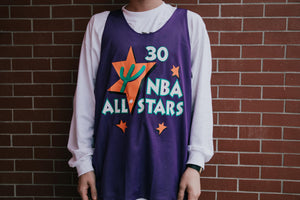 Mitchell & Ness All Star '95 Scottie Pippen Reversible Mesh Tank - Purple/White