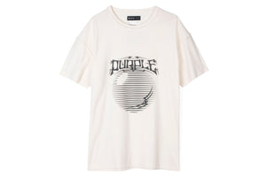 Purple Brand Asterism Tee - White