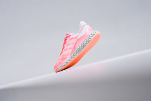 Adidas 4D Run 1.0 - Signal Coral/Cloud White