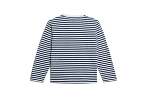 Adidas x Human Made Long Sleeve Tee - White/Collegiate Navy