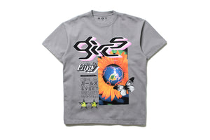 AOT 'Girls Save Magazine' Tee - Grey