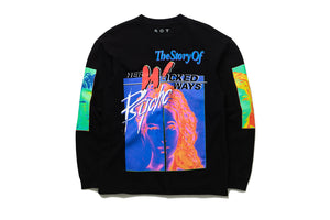 AOT 'Her Wicked Ways' Long Sleeve Tee - Black