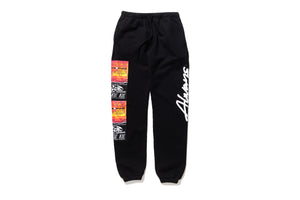 AOT Script Sweatpants - Black
