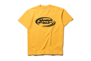 AOT 'Spinner Logo' Tee - Yellow