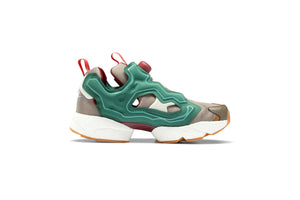 BBC x Reebok Instapump Fury Boost - Pine Green/Boulder Grey/Triathlon Red