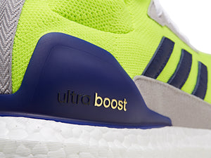 Adidas Consortium Ultra Boost Mid Prototype - Solar Yellow/High Res Blue/White