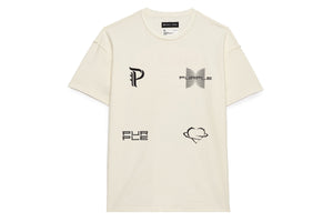 Purple Brand Blackwork Tee - White