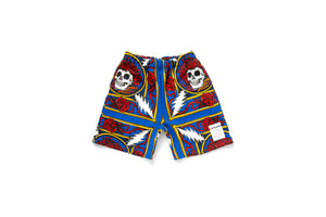 Chinatown Market x Grateful Dead Border Bandana Shorts - Multi